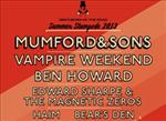 Please click Mumford and Sons + Special Guests at Queen Elizabeth Olympic Park with selected hotels Concert package