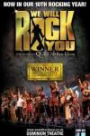 Please click We Will Rock You Theatre + Dinner Package