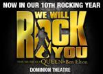 Please click We Will Rock You theatre package